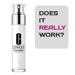 Clinique even better dark corrector