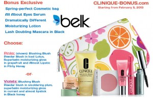 Bonus gift (65USD) at Belk