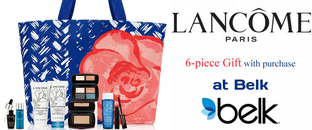 Lancome Belk Gift Purchase 2014  My Blog