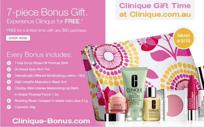 au $ 60 bonus gift value 2013 12pc gift exclusively for my readers $