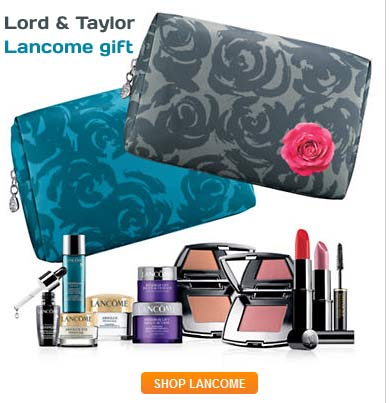 Here is another opportunity to get a free gift filled with Lancome