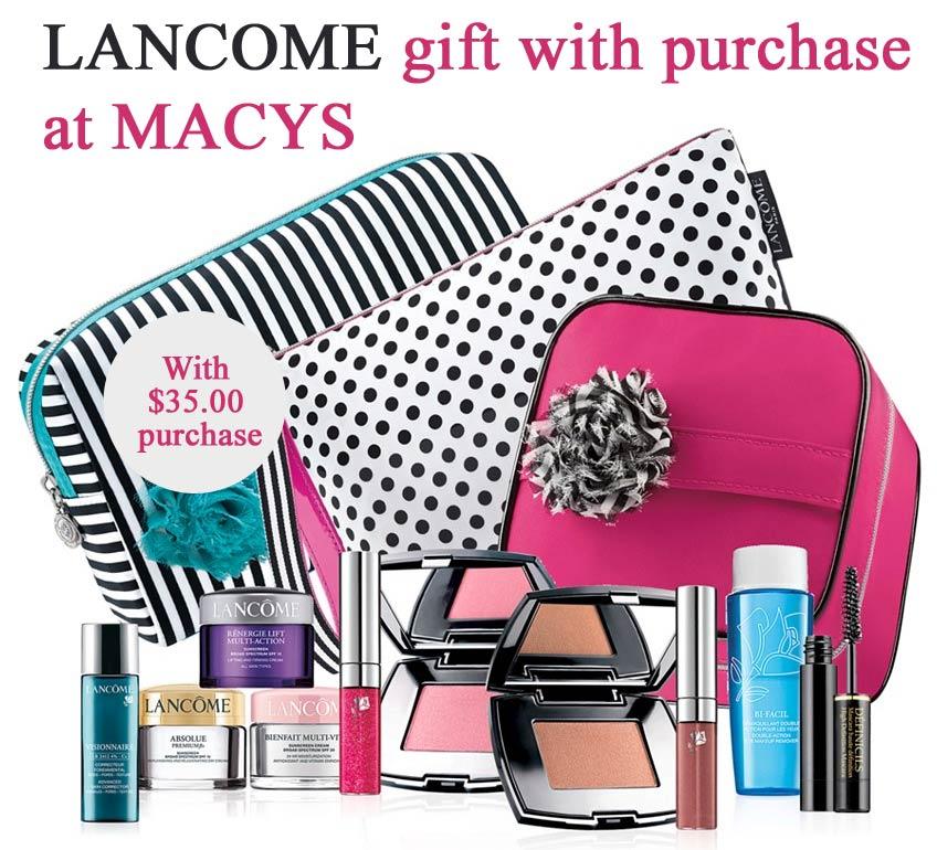 Lancome free gift bloomingdales / Hair coloring coupons