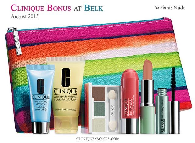 clinique bonus time belk