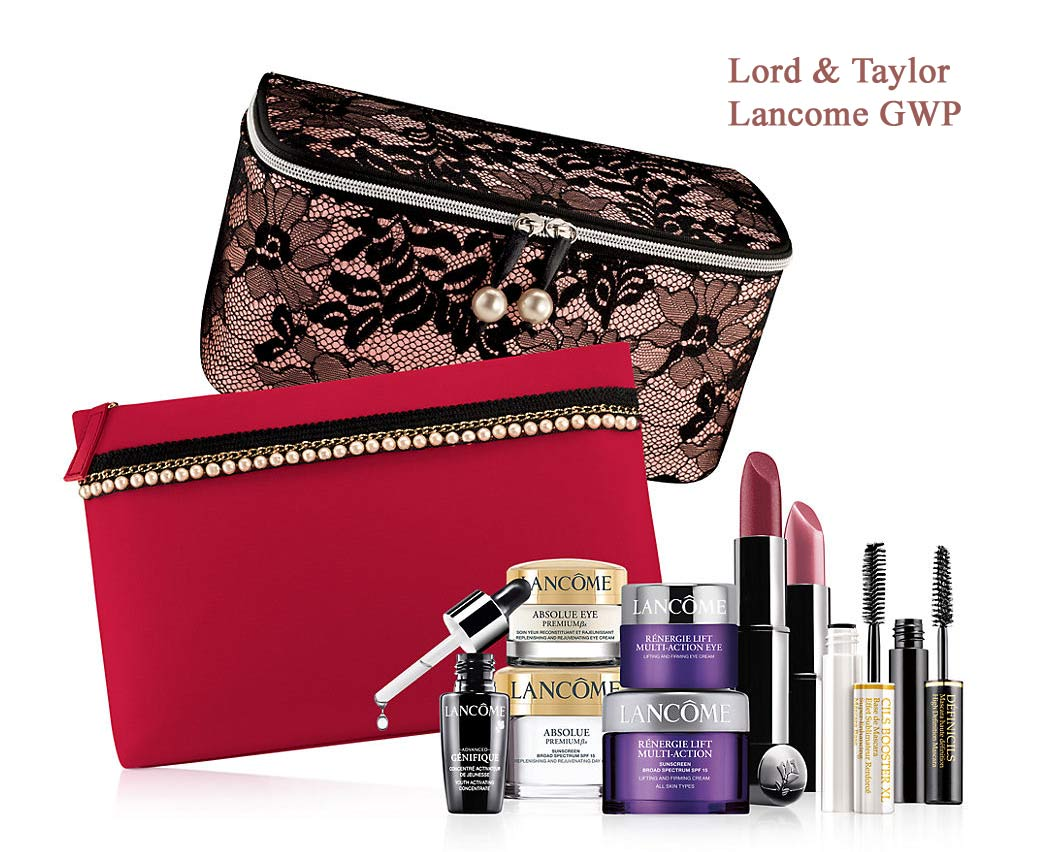 LANCOME GIFT WITH PURCHASE Thursday, March 30 - Monday, April 24 / During Store Hours Visit Lord & Taylor for the latest trends from top fashion brands at competitive prices. Shop designer clothing, fall dresses, shoes and handbags for everyday style and special occasion dressing.