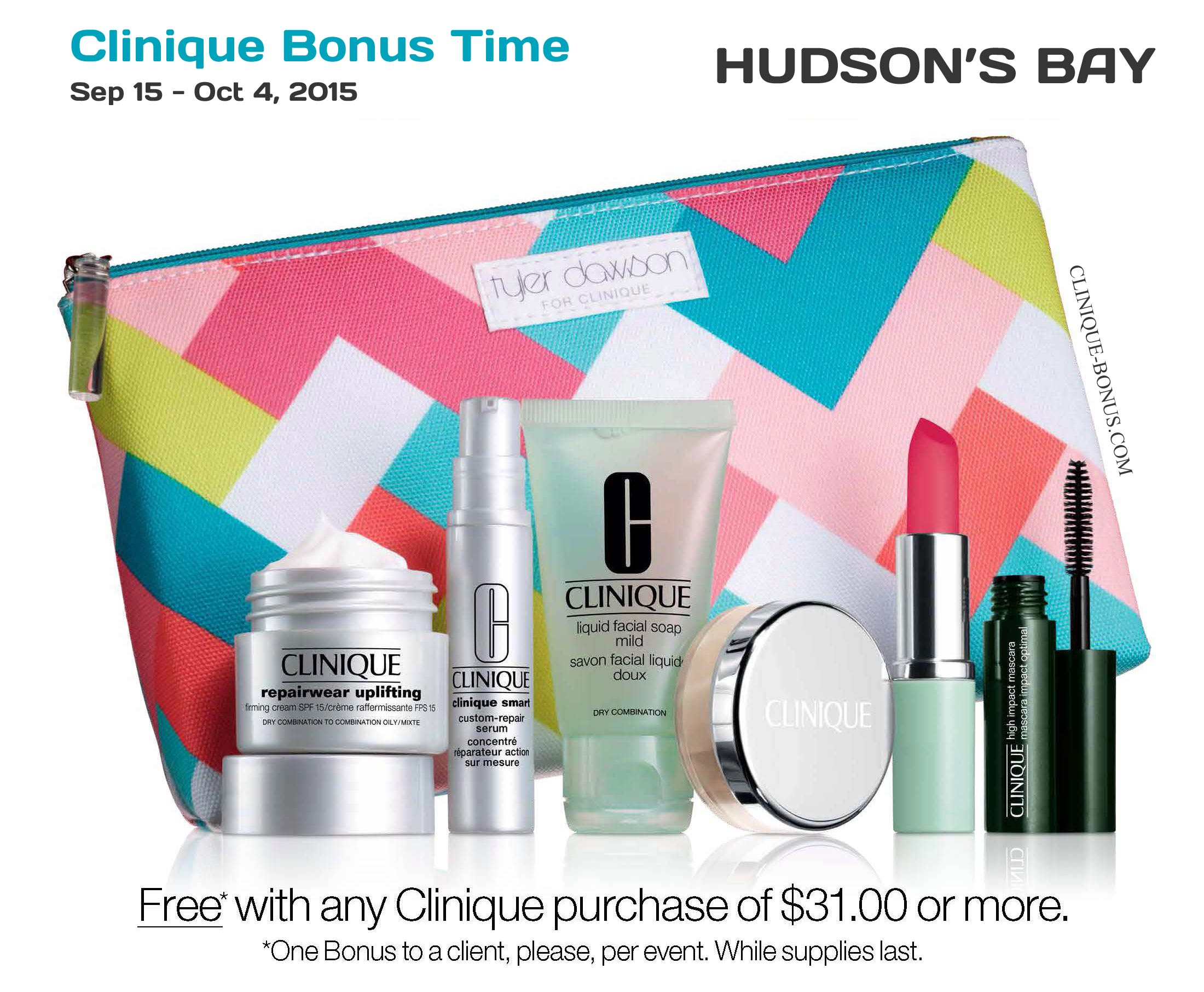 Clinique bonus dates in Perth