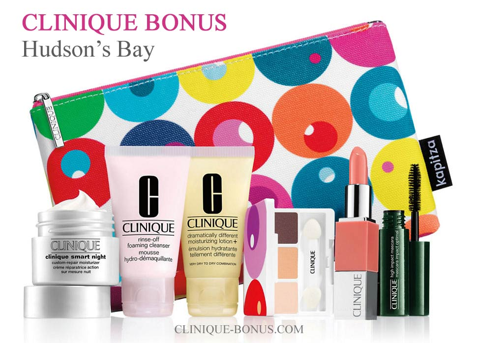 clinique gift at the bay starts march 14 2018 canada