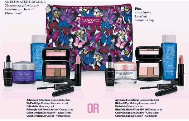 Lancome Gwp 2014 Gallery