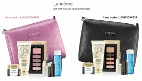 lancome-pink-black-bags