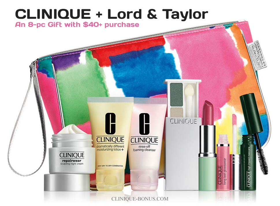 Taylor Gift: Other Stores With Clinique Bonus In United States
