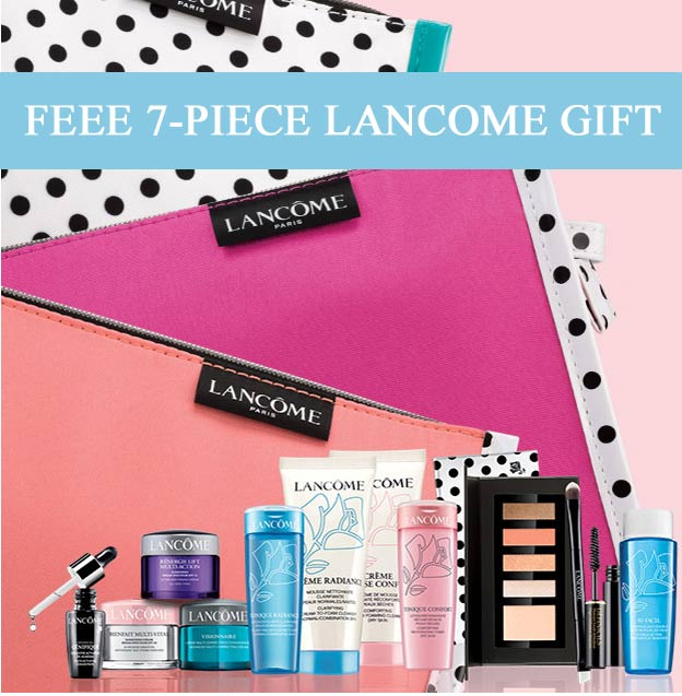 Dillards Lancome Gift With Purchase September 2017 Lamoureph Blog