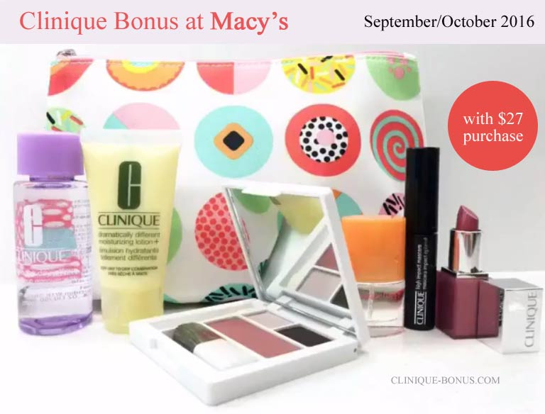macy s clinique free gift gift ideas