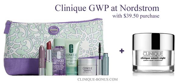 Clinique GWP at Nordstrom in December 2016