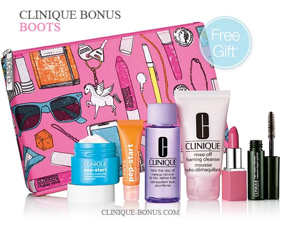 Clinique bonuses in the UK and IE - December 2017