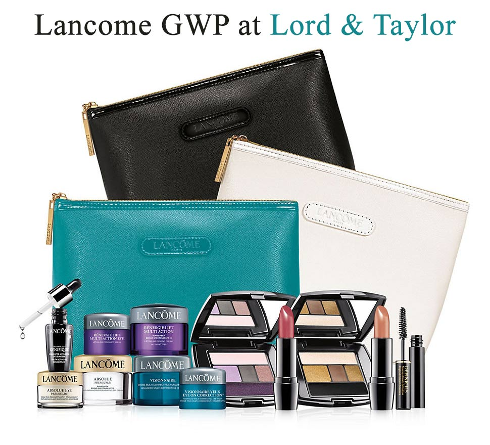 Choose 1 Of 5 Deluxe Sample Sized Bonus Sets With Your Lancome Purchase 70 Or More