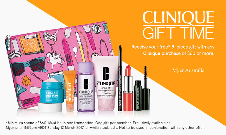 Current & upcoming free offers - Clinique Bonus Time November 2017