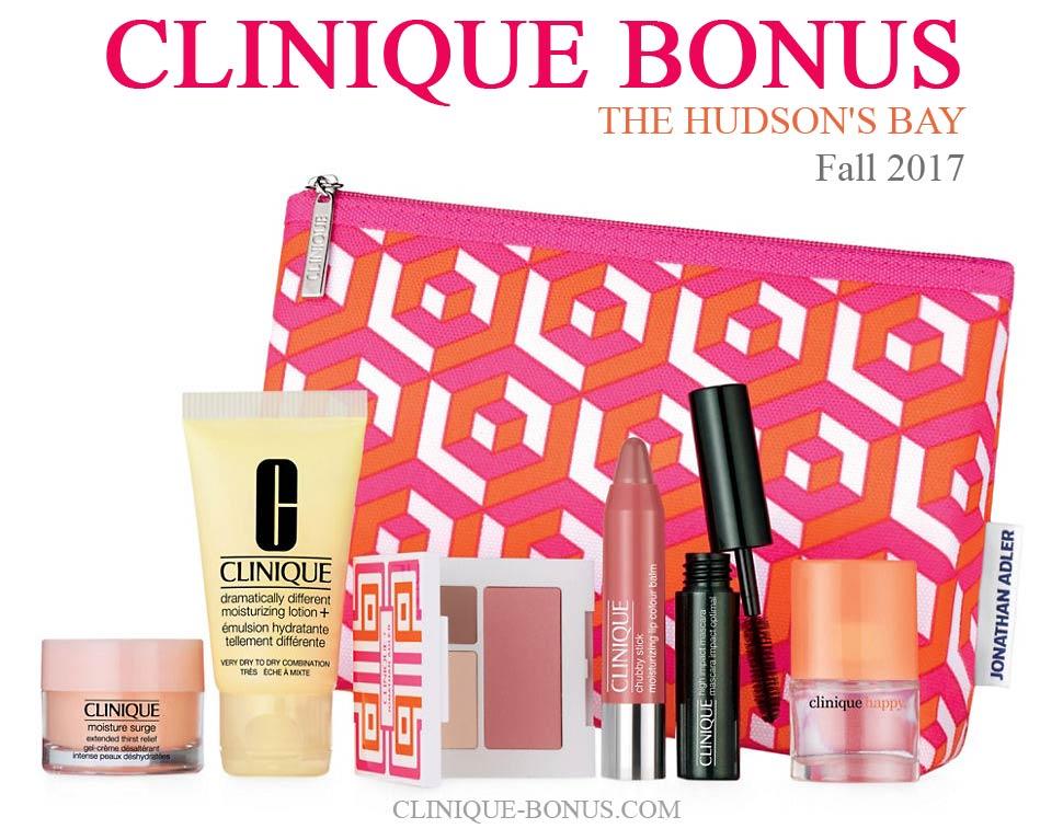Clinique bonus offers