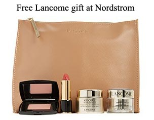 All Lancome Gift With Purchase Offers In September 2018