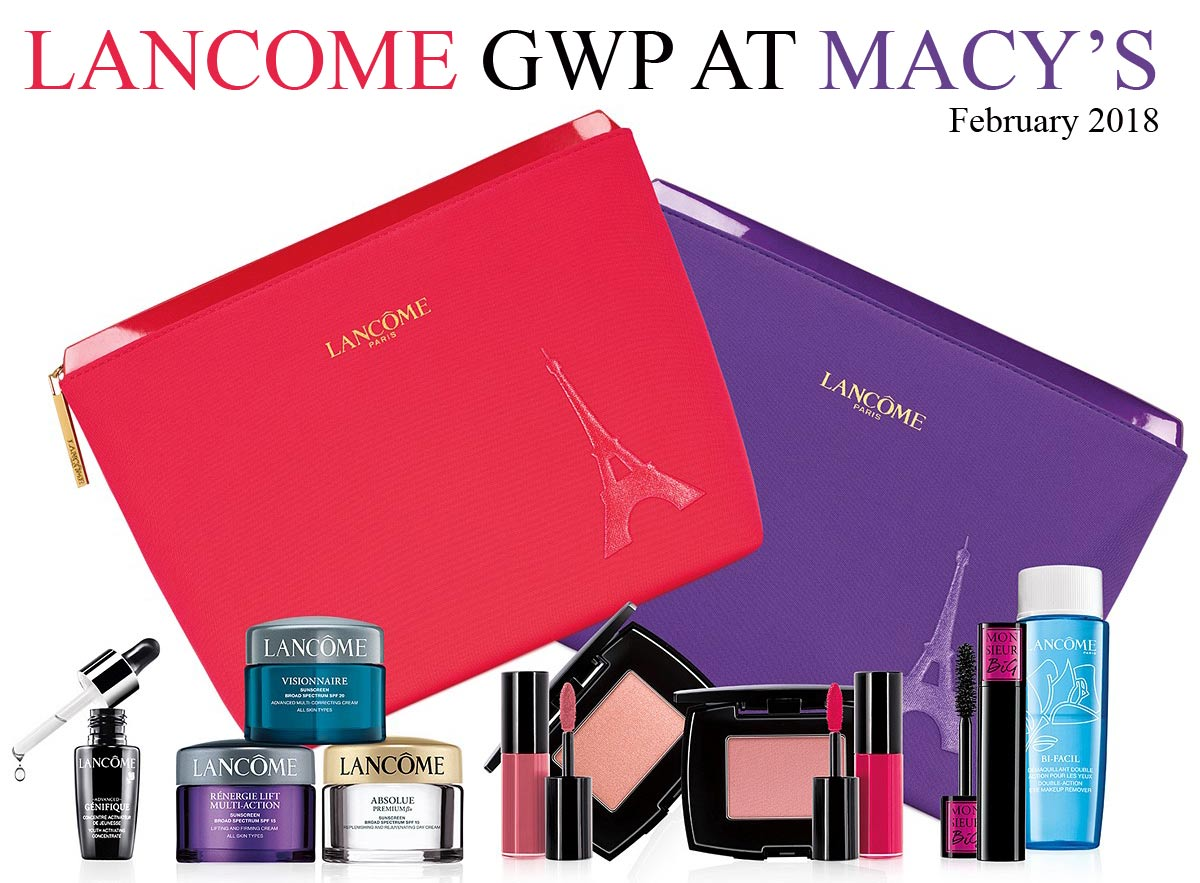 I've rarely bought something for the purpose of getting the gift with purchase but for Spring, Lancome has something pretty exciting up their sleeves with their $ value Lancome Gift with Purchase! With a fairly low minimum spend threshold, check this out if you're planning to do a bit of makeup spending!