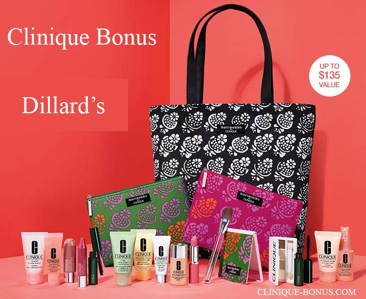 Clinique Bonuses At Dillard S In 2018