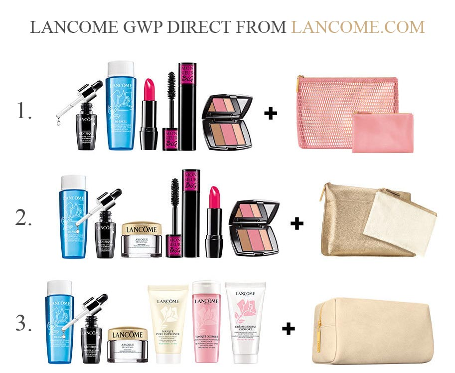 All Lancome Gift With Purchase Offers In April 2019