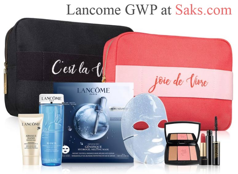 All Lancome Gift with Purchase offers in September 2019