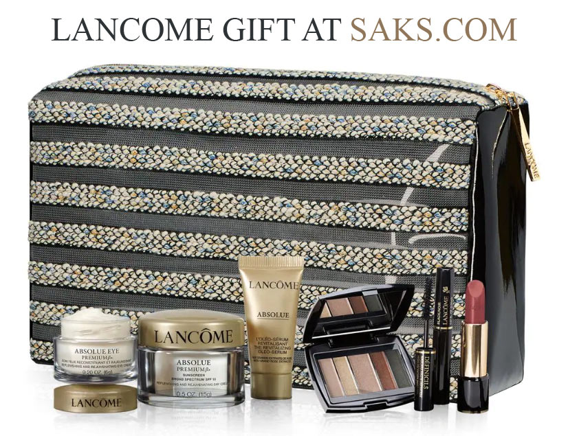 All Lancome Gift with Purchase offers