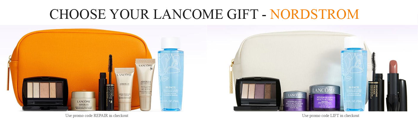 Download Lancome Free Gift With Purchase 2020 Gif