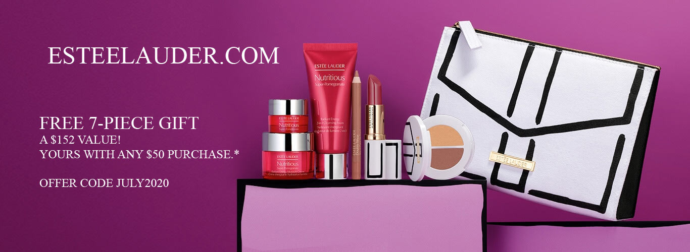 All Estee Lauder Gift With Purchase Offers In October 2020